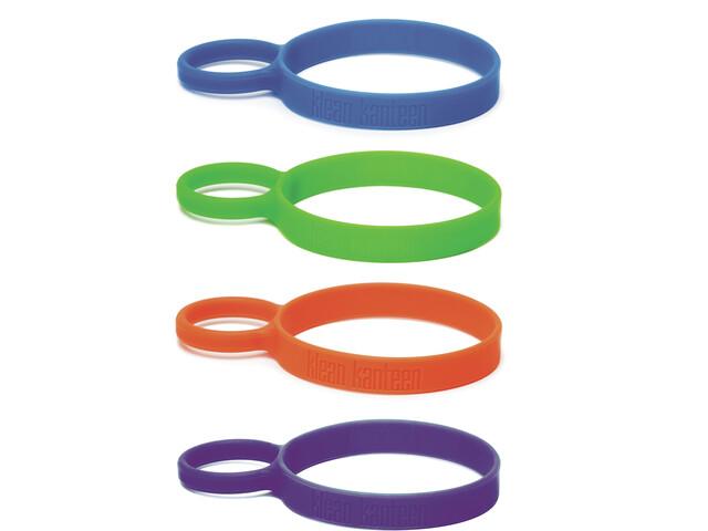Klean Kanteen Siliconen Draagring 4 stuks, multi color